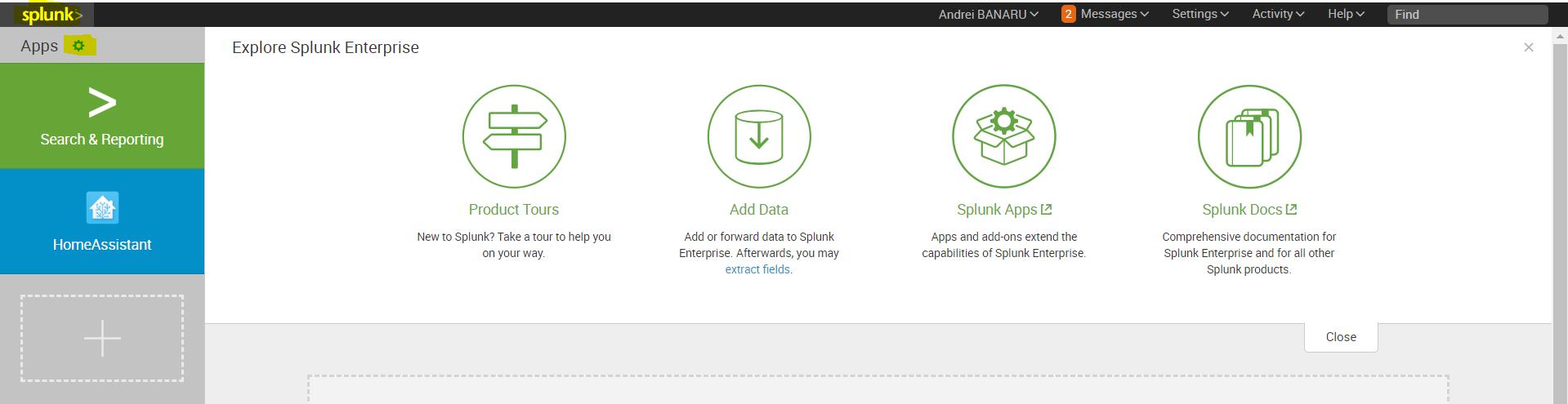 Home Assistant and Splunk inside Docker – IoT Blog